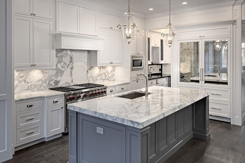 48 White Kitchen Design Decor And Ideas With Nice Lighting Concept NHG Mesmerizing All White Kitchen Designs Decor