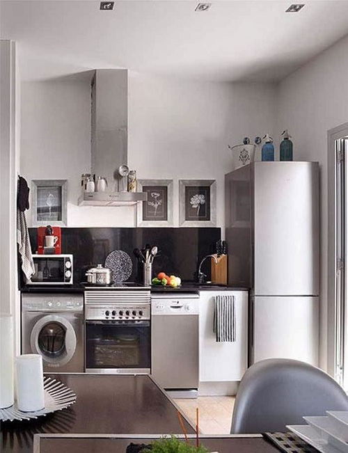 Well Designed Tiny Kitchen Design
