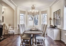 Dining Room white concept
