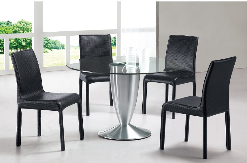 Simple Minimalist Dining Set: Set Of Chairs For Dining Room