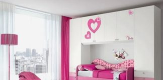 Beautiful bedroom pink concept