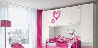 Beautiful bedroom pink concept