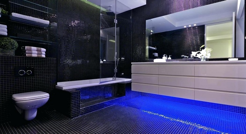 Blue Bathroom Design idea