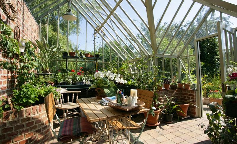 Design Idea 2018 - Living Room In Greenhouse - NHG