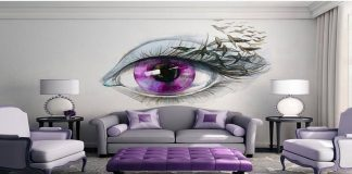 wall art design bedroom idea