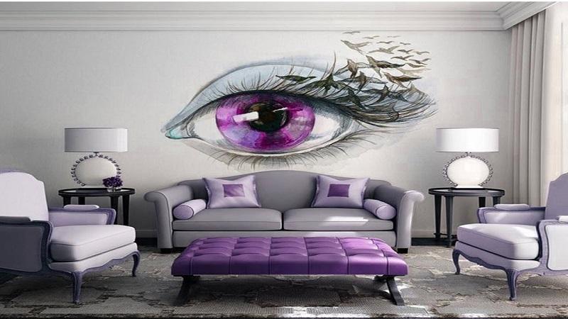 wall art design bedroom idea
