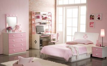 Concept Decoration Girl's Bedroom