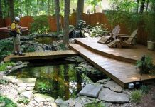 Design Idea Exterior Fish Pond