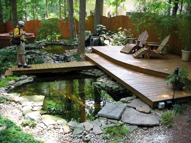 Design Idea Exterior Fish Pond