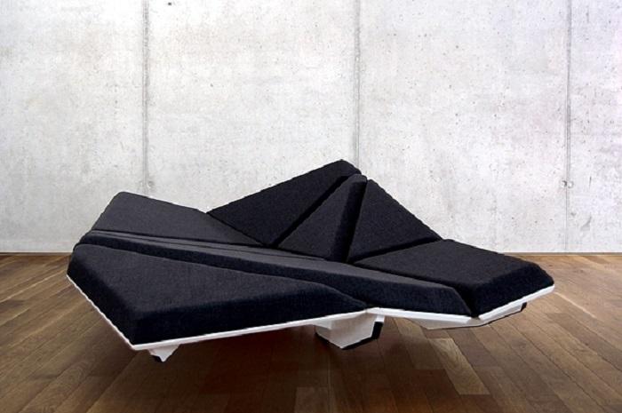 The Best Comfortable Futuristic Sofa Design - NHG