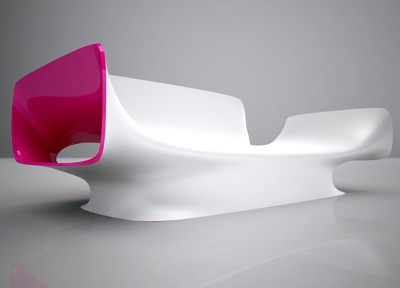 Futuristic sofa design