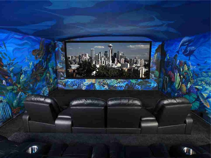 Home theater mini design