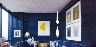blue apartment design idea