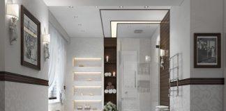 comfortable interior bathroom