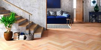 interior wood parquet design