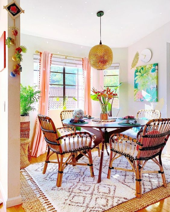 Bright Mexican Style room