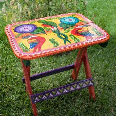 Folk art table