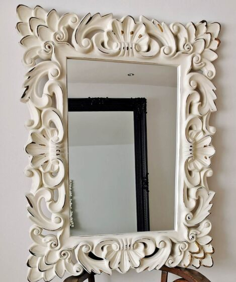 vintage mirror for shabby styles
