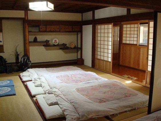 Japanese bedroom design for family