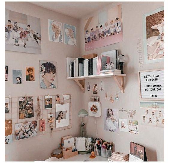 Kpop Bedroom decor