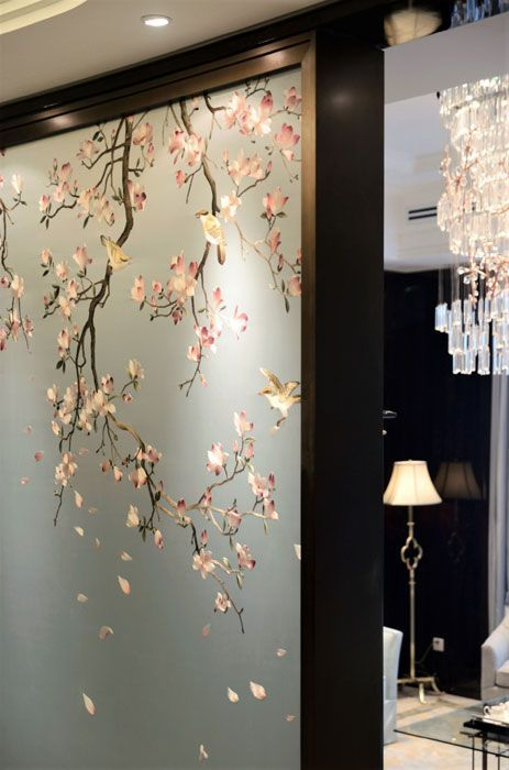 Japanese room curtain
