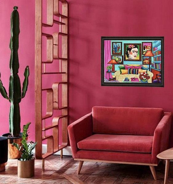 Pink Mexican design
