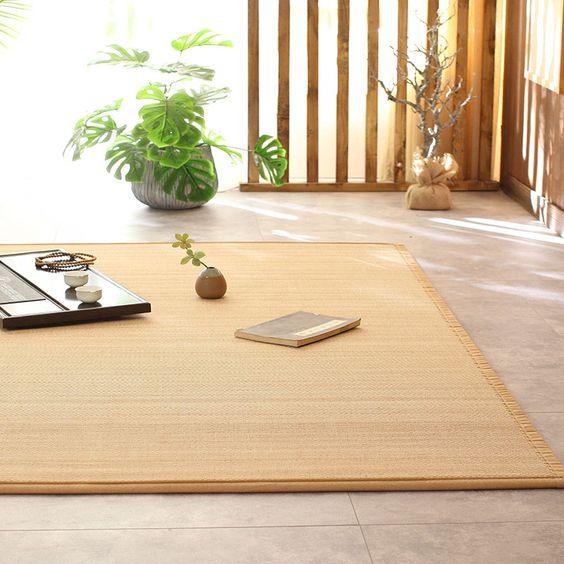 Tatami on our bedroom floor