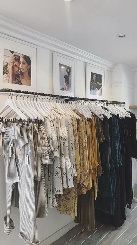 Display Clothes example