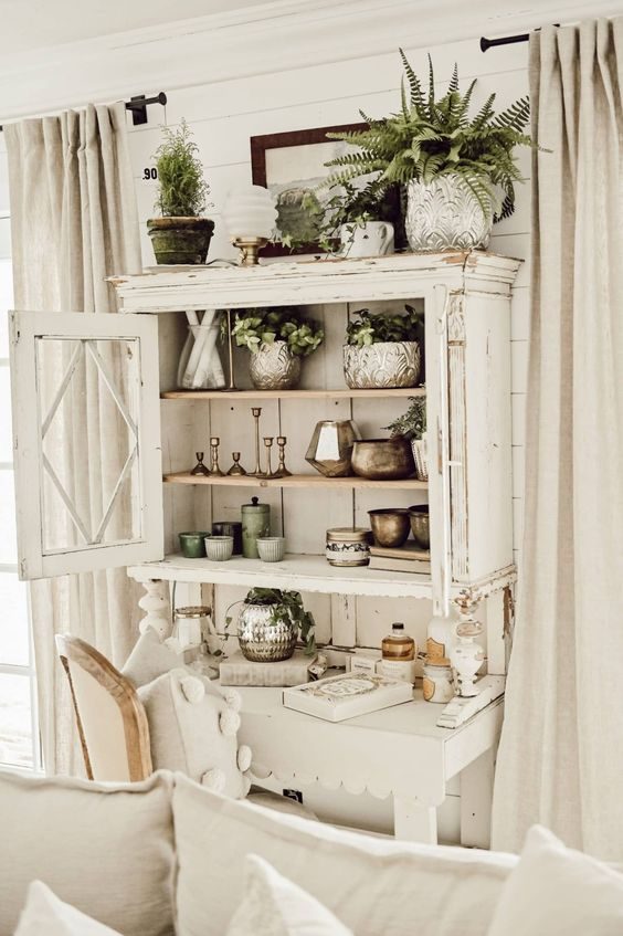 old cupboard for shabby style