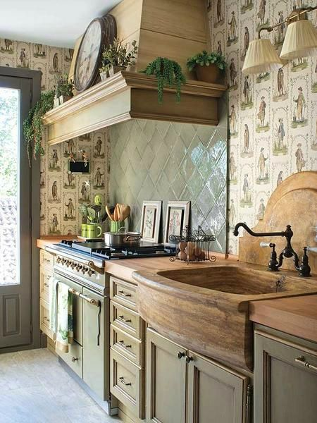 Wooden Furniture in the Kitchen