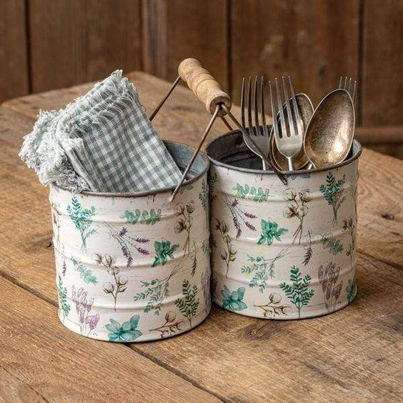 Floral Pattern Kitchen Accessories