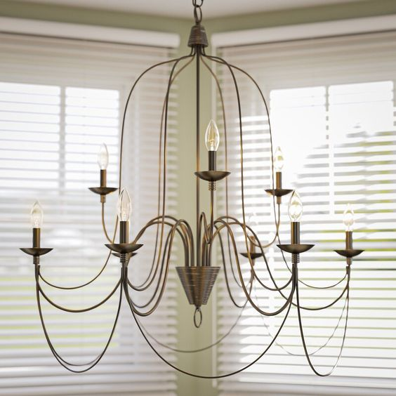 Candle type chandelier