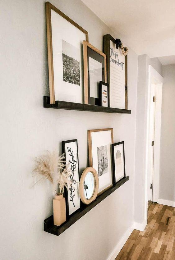 Cozy eclectic living room design