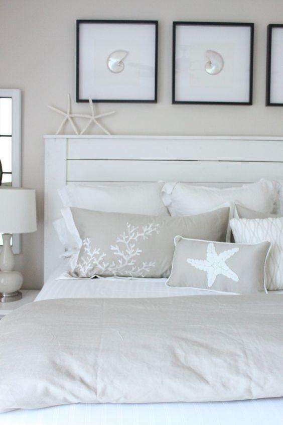 Light brown concept in nautical bedroom