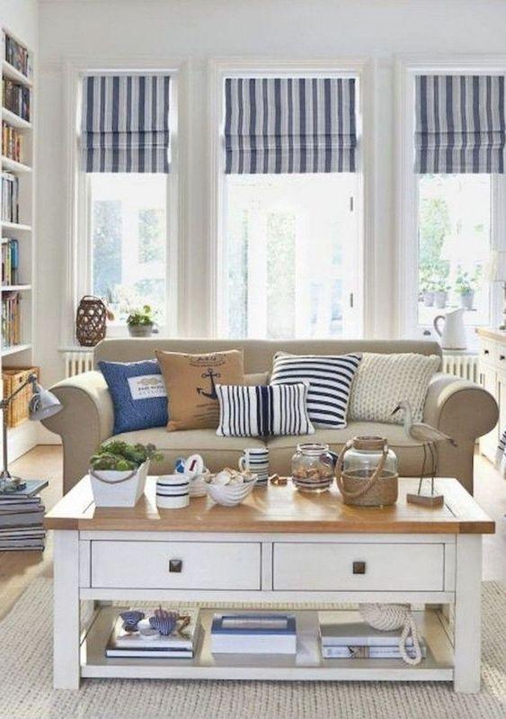 Nautical living room ideas