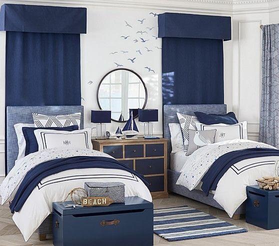 Nautical bedroom design for kids