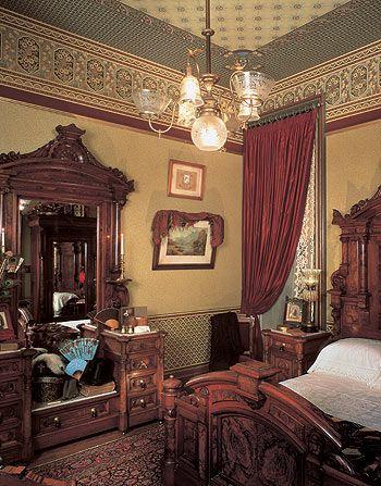 Vintage modern Victorian home interior