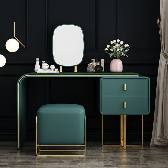 Green dressing room