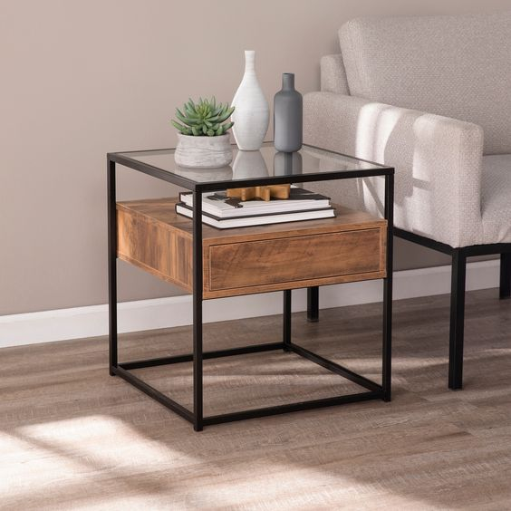 Side table can be added to office home
