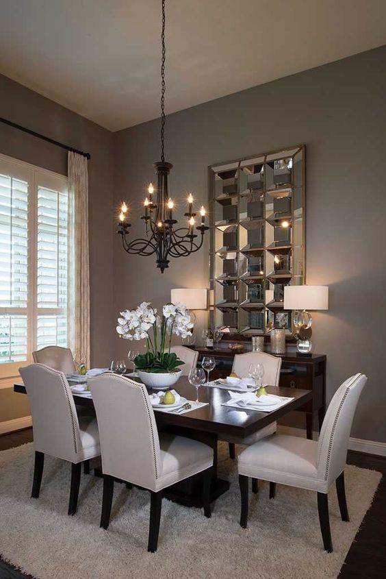 Modern Victorian dining room