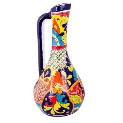 Talavera ceramic vases