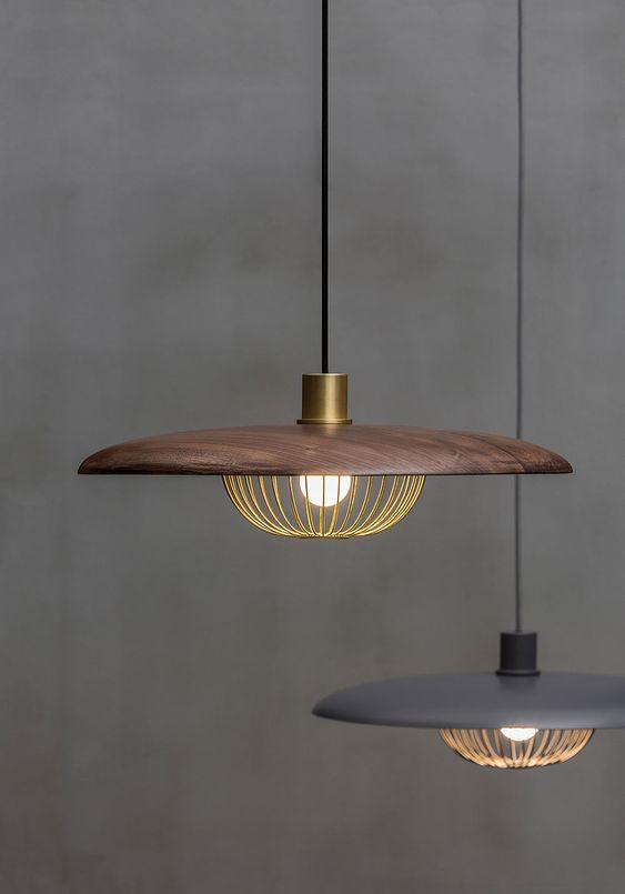 Lamp in meditation room