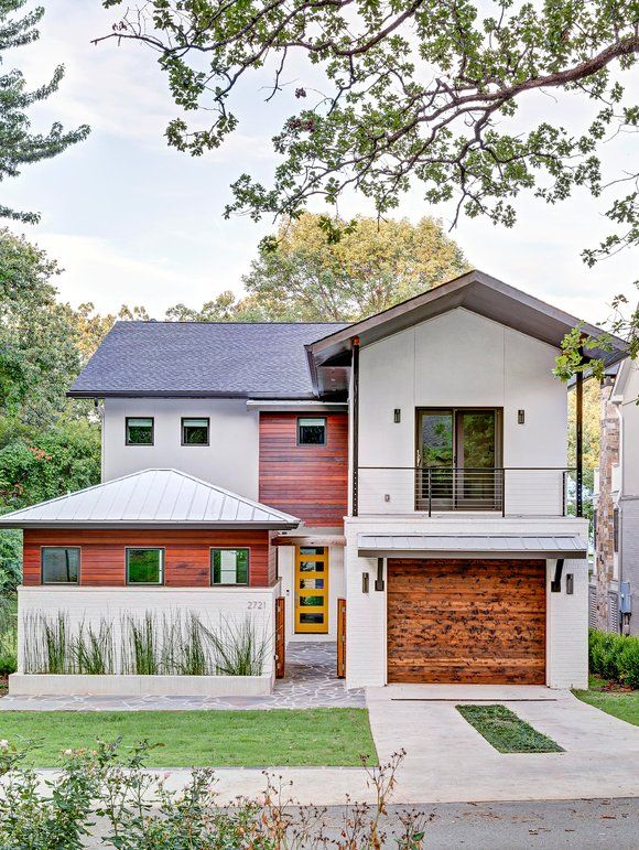 How to make home exterior with eclectic design