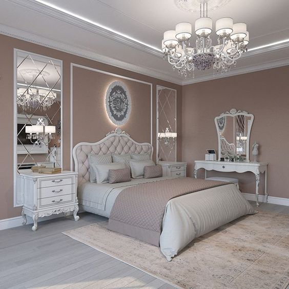 Modern Victorian bedroom style ideas with simple concept