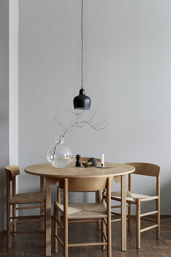 eclectic dining room decorating ideas with wooden furniture