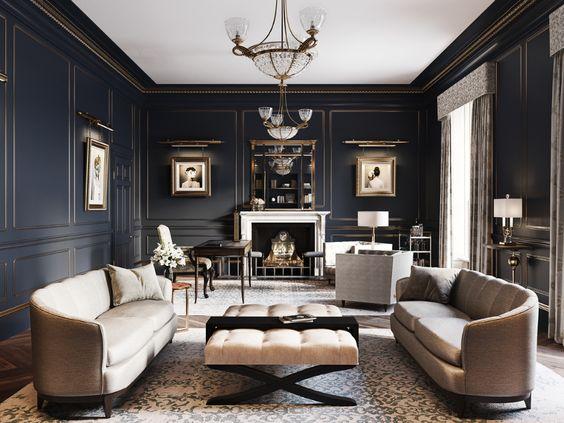 Modern Victorian home interior design