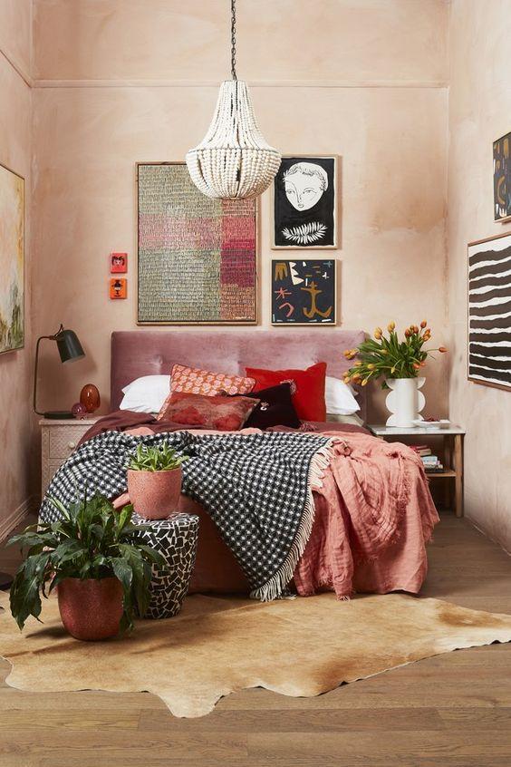 Eclectic bedroom design decorating ideas