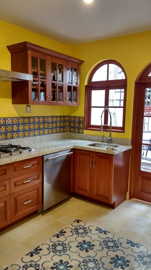 Simple traditional Mexican kitchen