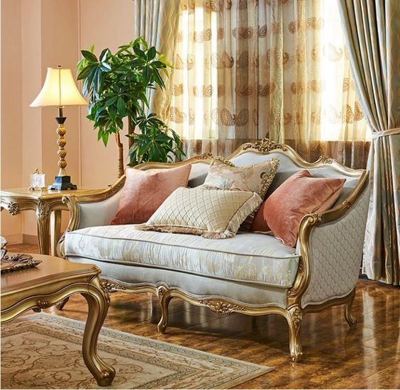 Classic furniture for Mediterranean design