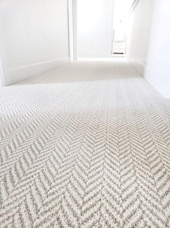 Carpet in meditation room